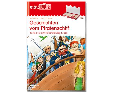miniLUEK-Heft Geschichten vom Piratenschiff