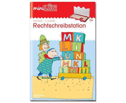 miniLUEK-Heft Rechtschreibstation 2 Klasse-1