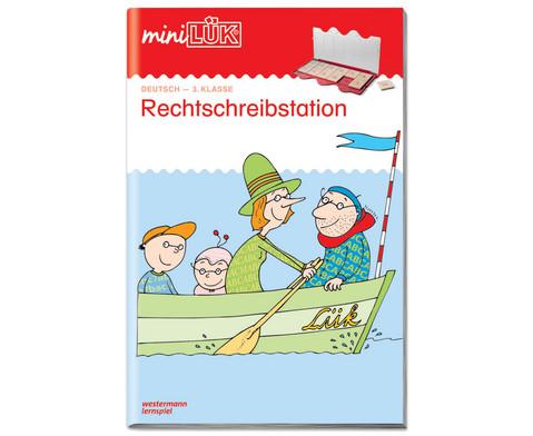 miniLUEK-Heft Rechtschreibstation 3 Klasse-1