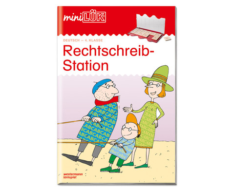 miniLUEK-Heft Rechtschreibstation 4 Klasse-1