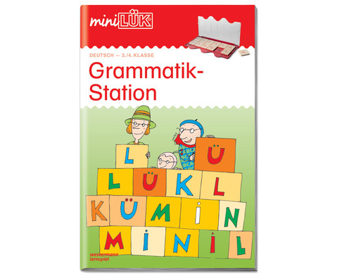 miniLUEK-Heft Grammatikstation 3-4 Klasse