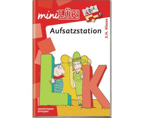 miniLUEK-Heft Aufsatzstation 3-4 Klasse