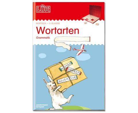 LUEK Wortarten 3 Klasse