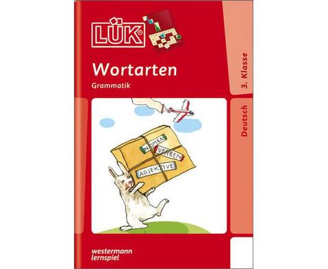LUEK Wortarten Grammatik ab Klasse 3-1