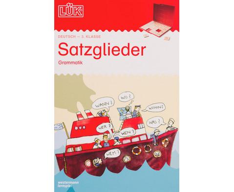 LUEK-Heft Satzglieder Grammatik ab Klasse 3-1