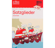 LÜK-Heft: Satzglieder, Grammatik ab Klasse 3
