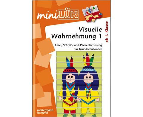 miniLUEK-Heft Visuelles Wahrnehmungstraining 1-1