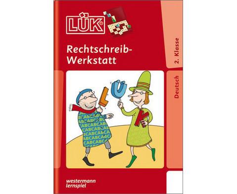 LUEK-Heft Rechtschreibwerkstatt 2 Klasse-1