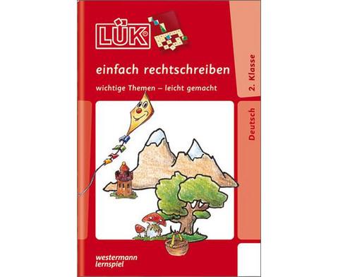 LUEK-Heft Einfach rechtschreiben 2 Klasse-1