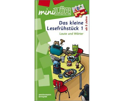 miniLUEK-Heft Das kleine Lesefruehstueck 1-1