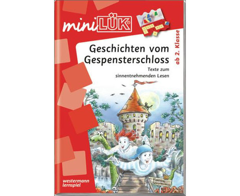 miniLUEK-Heft Geschichten vom Gespensterschloss-1
