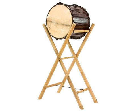 Gestell aus Bambus fuer die Basstrommel-1