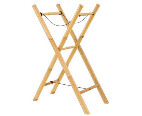 Gestell aus Bambus fuer die Basstrommel-3