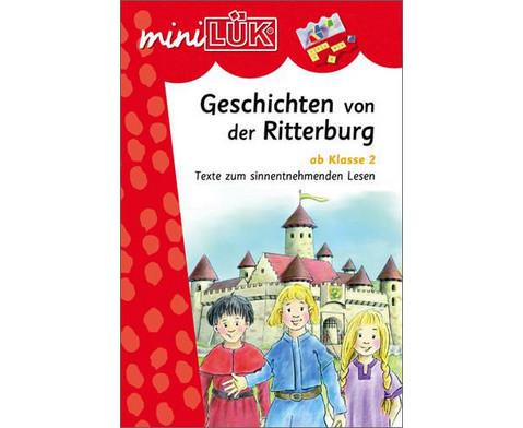 miniLUEK-Heft Geschichte von der Ritterburg-1