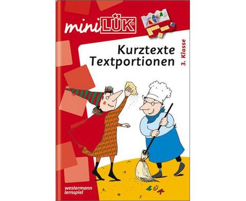 miniLUEK-Heft Sachtextlesestation 3 Klasse-1