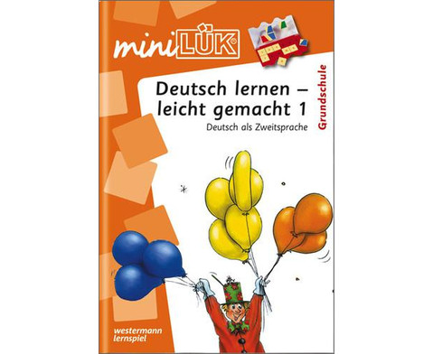 miniLUEK Deutsch lernen - leicht gemacht 1