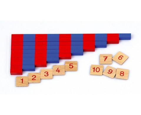 Kleine numerische Stangen-2