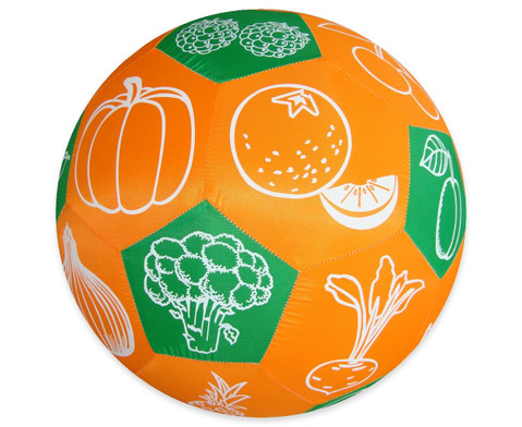 Lernspielball Obst und Gemuese