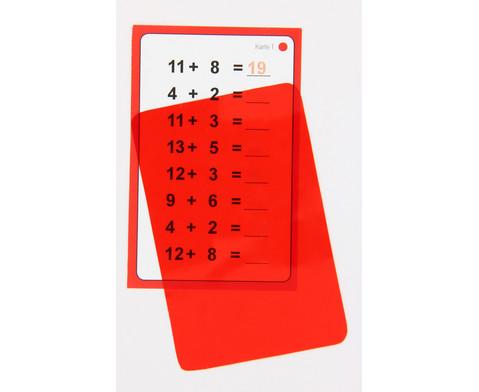 Zauberkarten zum Kopfrechnen - Addition und Subtraktion bis 20 mit Zehnerueberschreitung-4