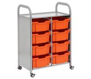 Regal Callero, 2-reihig, 8 große Boxen HxBxT: 103 x 68 x 43 cm