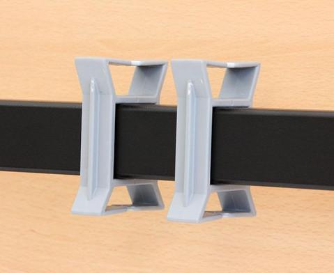 Saeulentisch - fahrbar und klappbar BxTxH 140 x 70 x 735 cm-3