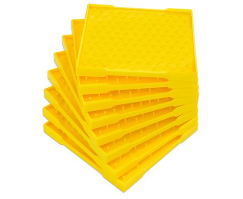 Betzold Geometriebretter 11 x 11 Zapfen 8 Stueck