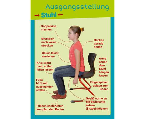Gesunder Ruecken von Anfang an - Posterpaket-2