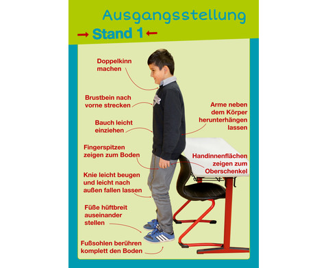 Gesunder Ruecken von Anfang an - Posterpaket-3