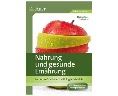 Nahrung und gesunde Ernaehrung  - 7 bis 9 Klasse
