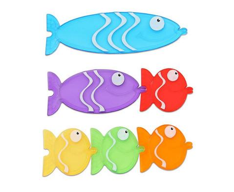 Transparente Steck-Fische-1