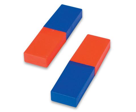 Satz mit 2 Stabmagneten in Kunststoffhuelle-1