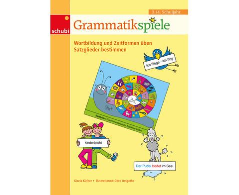 Grammatikspiele 3-4