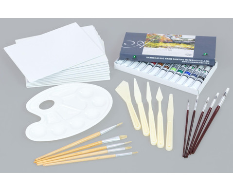 Acrylmalerei-Koffer 38 tlg-1