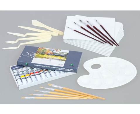 Acrylmalerei-Koffer 38 tlg-3