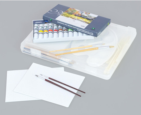 Acrylmalerei-Koffer 38 tlg-4