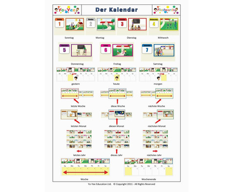 Bildkarten Kalender-7