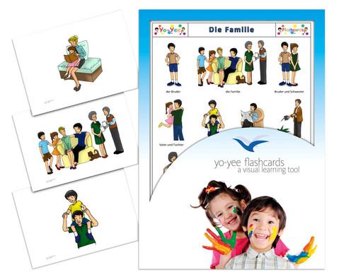 Bildkarten Familie