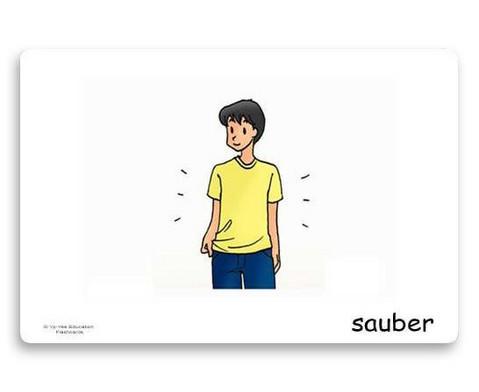 Bildkarten Adjektive 1-3