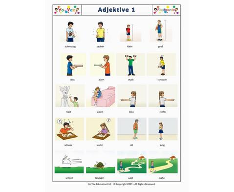 Bildkarten Adjektive 1-7