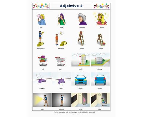 Bildkarten Adjektive 2-7