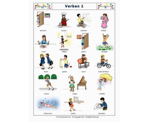 Bildkarten Verben 1-7