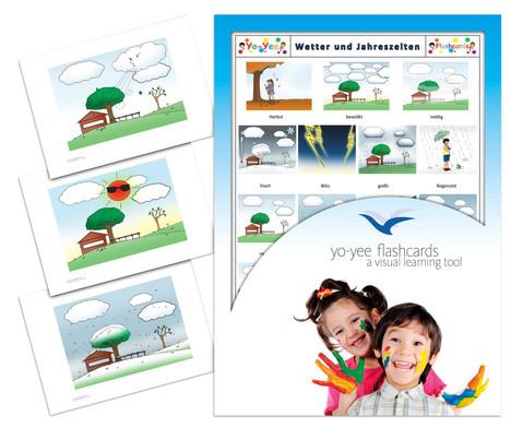 Bildkarten Wetter und Jahreszeiten-1