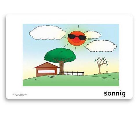 Bildkarten Wetter und Jahreszeiten-4
