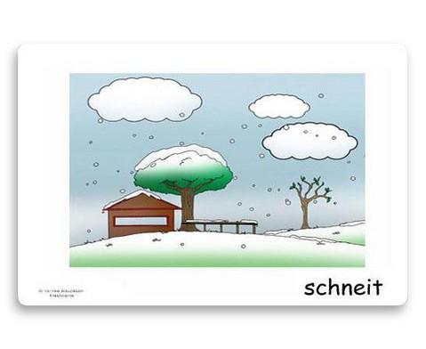 Bildkarten Wetter und Jahreszeiten-5