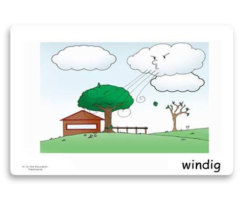 Bildkarten Wetter und Jahreszeiten-6
