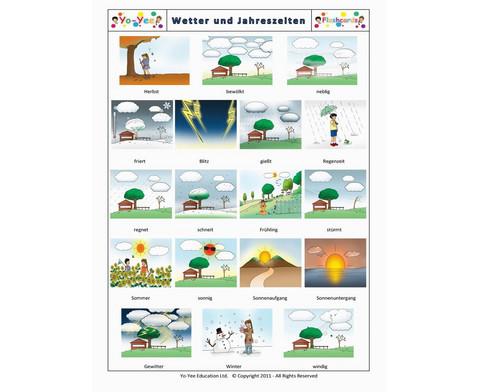 Bildkarten Wetter und Jahreszeiten-7