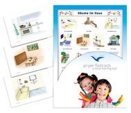 Bildkarten Räume im Haus