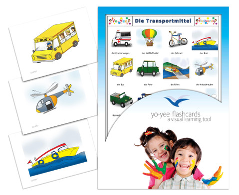 Bildkarten Transportmittel-1