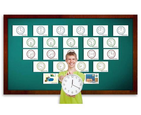 Bildkarten Uhrzeit-2