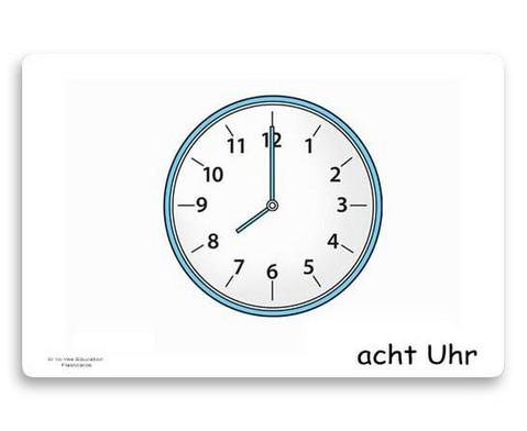 Bildkarten Uhrzeit-3